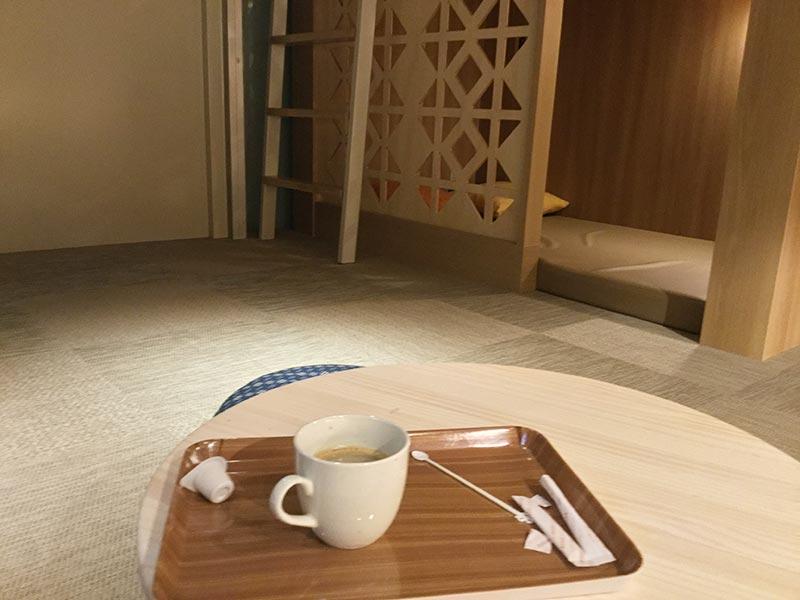 くつろぎ処とコーヒー