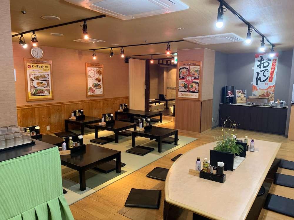 ウェルビー栄 レストラン