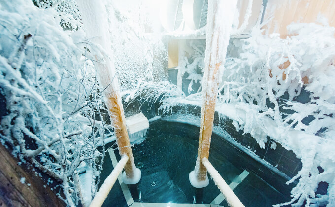 ウェルビー栄 水風呂