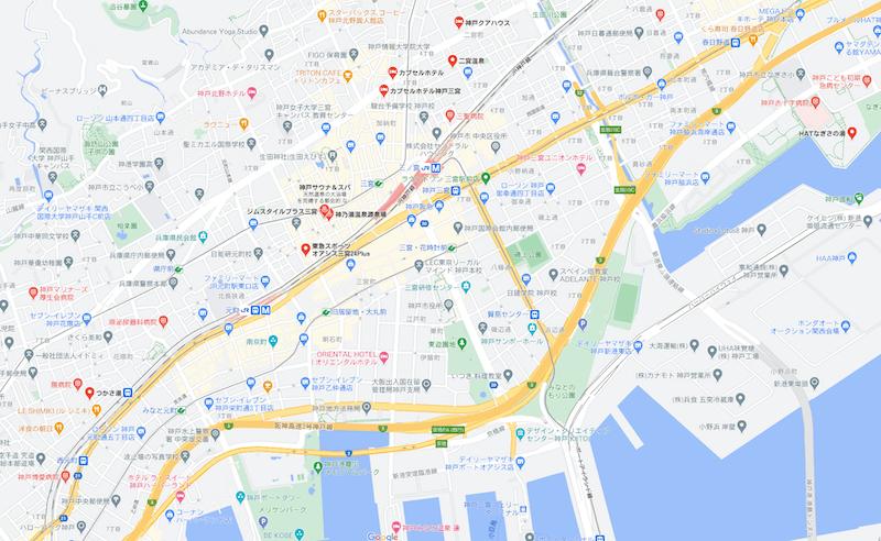 神戸 三宮 サウナ