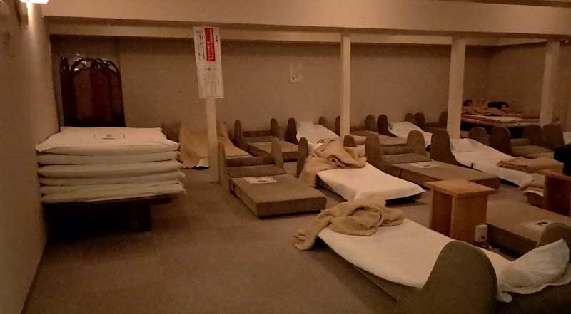 クアハウス 仮眠室